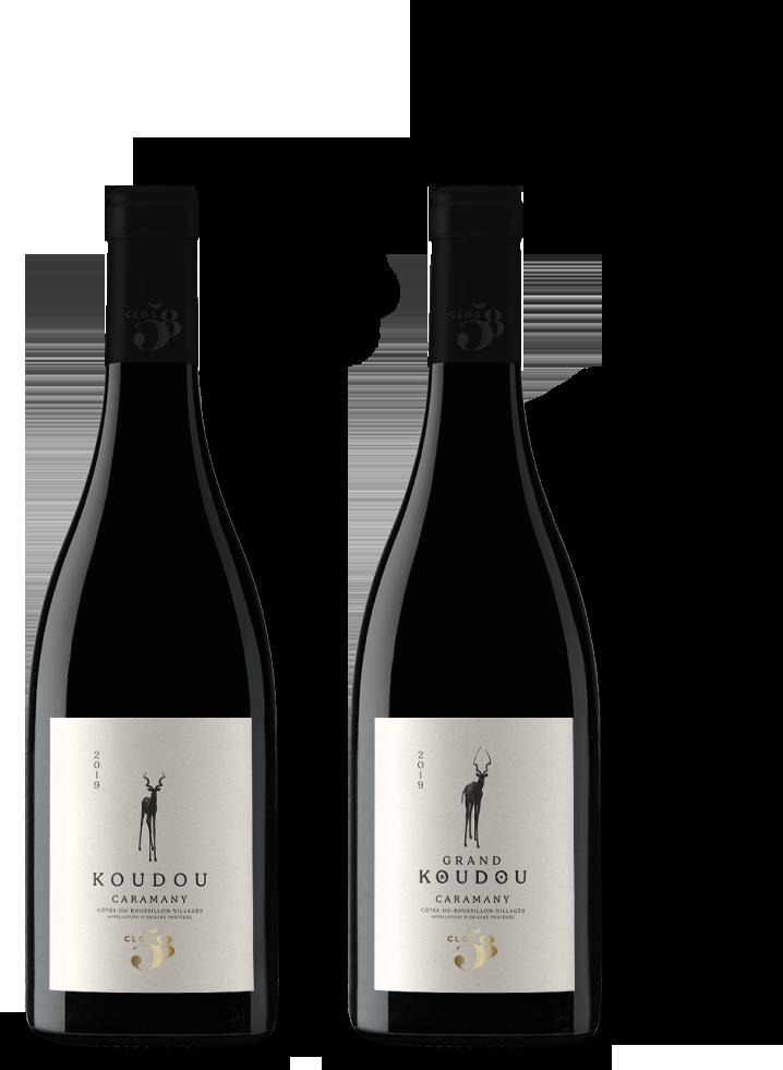 Koudou Clos 58 wine Caramany